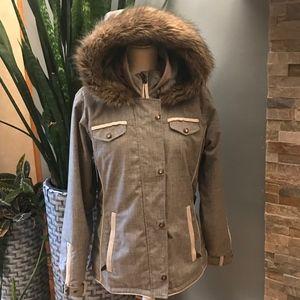 LBN! Obermeyer Dolly Crosshatch Ski Jacket